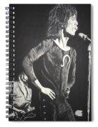 Mick Jagger Spiral Notebook