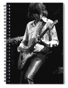 Mick In Flight 1977 Spiral Notebook