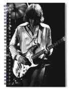 Mick On Guitar 1977 Spiral Notebook
