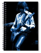 Mick Plays The Blues In Spokane 1977 Spiral Notebook