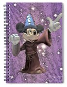 Mickey And The Stars Spiral Notebook