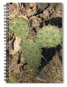 Mickey Mouse Cactus Spiral Notebook