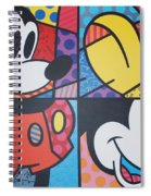 Mickey Spiral Notebook