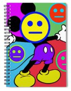 Mickey Smiles Spiral Notebook
