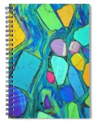 Art And Geology Spiral Notebook
