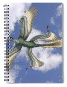 Microraptor Spiral Notebook