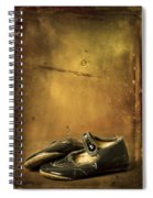 Mid 40's Baby Shoes Spiral Notebook