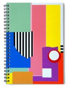 Mid Century Compromise Spiral Notebook