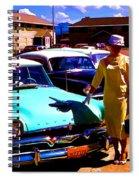 Mid Century In Alaska Spiral Notebook