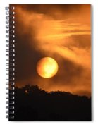 Mid-july Sunrise Spiral Notebook