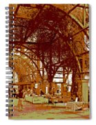 Mid-summer Harvest Spiral Notebook
