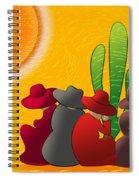 Midday Siesta Spiral Notebook