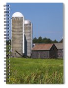Middlebury Vermont Barn Spiral Notebook