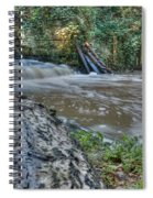 Middleton Hall Waterfall Spiral Notebook
