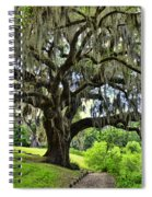 Middleton Place Oak  Spiral Notebook