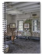 Middleton Place Rice Mill Interior Spiral Notebook