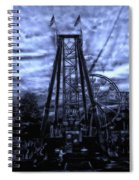 Midnight At The Carnival Spiral Notebook