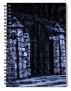 Midnight At The Prison Gates Spiral Notebook