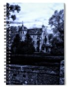 Midnight At The Prison Spiral Notebook