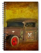 Midnight Auto Parts Spiral Notebook