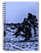 Midnight Battle Stay Close Spiral Notebook