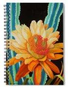 Midnight Bloom Spiral Notebook