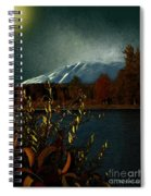 Midnight Blue In The Mountains Spiral Notebook