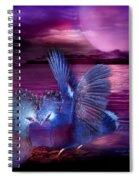 Midnight Blue Rendevous Spiral Notebook