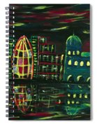 Midnight City Spiral Notebook