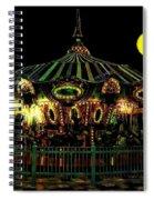 Midnight Midway Spiral Notebook