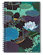 Midnight Moonglow Spiral Notebook