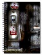 Midnight Oil Spiral Notebook
