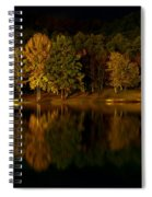 Midnight On The Lake Spiral Notebook