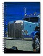 Midnight Peterbilt Spiral Notebook