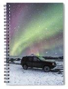 Midnight Rider Spiral Notebook