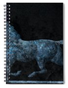Midnight Run - Weathervane Spiral Notebook