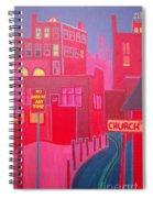 Midnight Sun Spiral Notebook