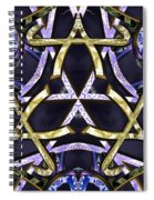 Midnight Tetraktys Spiral Notebook