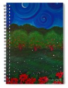Midsummer Night By Jrr Spiral Notebook