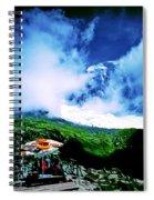 Le Milieu De Mont Blanc   Spiral Notebook