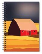 Midwest Barn Spiral Notebook