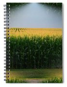 Midwest Gold Spiral Notebook