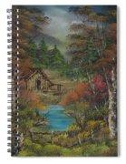 Midwestern Landscape Spiral Notebook