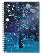 Midwinter Spiral Notebook