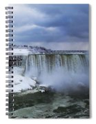 Mighty Cold Niagara Spiral Notebook