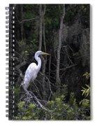 Mighty Heron Spiral Notebook