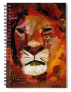 Mighty Lion Spiral Notebook