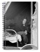Migrant Worker, 1936 Spiral Notebook