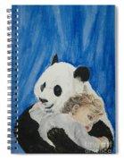 Mika And Panda Spiral Notebook