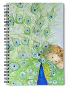 Mika And Peacock Spiral Notebook
